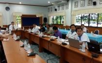 ประชุมเพื่อติดตามสถานการณ์น้ำการปลูกพืชฤดูนาปี พร้อมให้ข้อเสนอแนะ วันที่ 21ก.ค.2558 เวลา 09.00 น.  ณ ห้องประชุมโครงการชลประทานเชียงราย